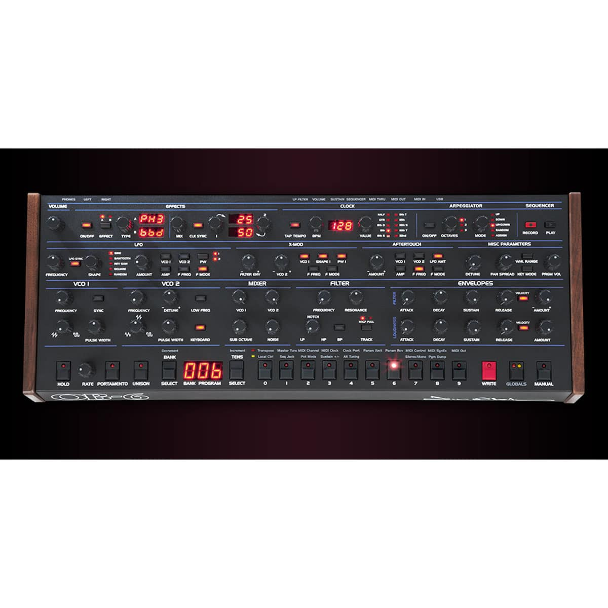 Dave Smith OB 6 Desktop Sintetizzatori e Drum Machine, Sintetizzatori e Tastiere, Synth Desktop Dave Smith OB 6 05