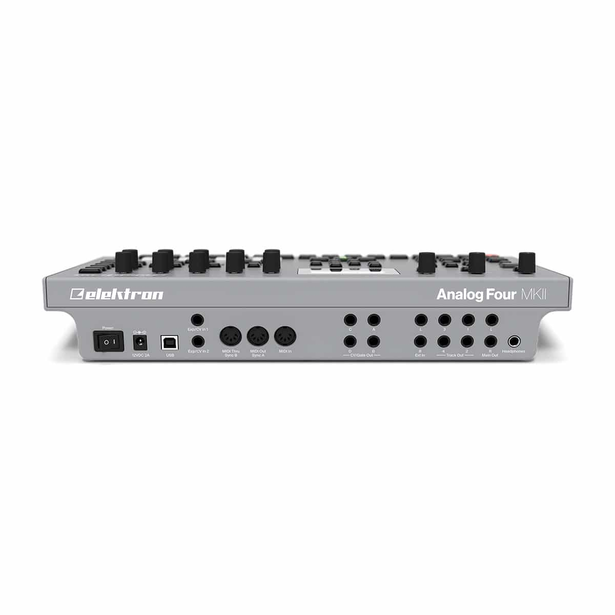 Elektron Analog Four MKII 02 Sintetizzatori e Drum Machine, Sintetizzatori e Tastiere, Synth Desktop