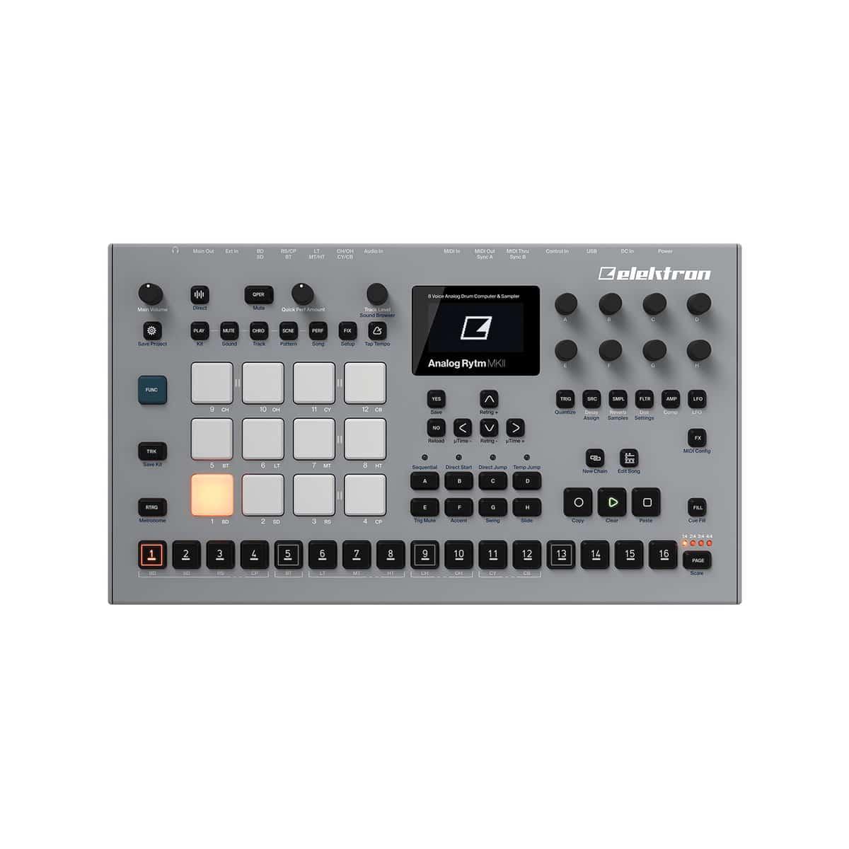 Elektron Analog Rytm MKII 04 Sintetizzatori e Drum Machine, Drum Machines Batterie Elettroniche