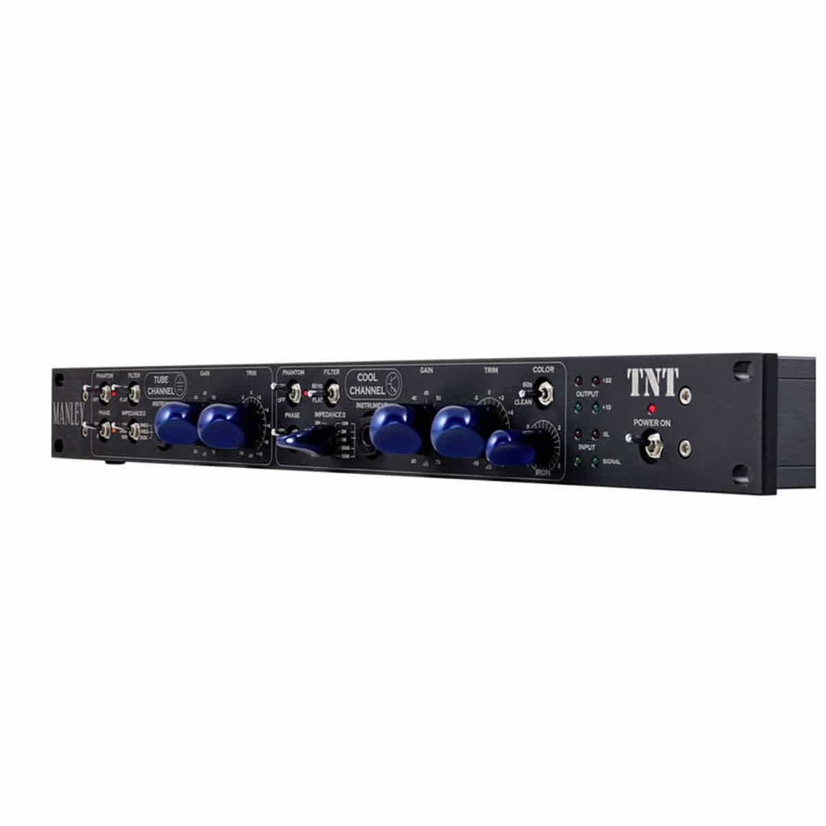 Manley TNT 03 Outboard professionale analogico, Preamplificatori microfonici in formato Rack e Serie 500, Strumentazioni Pro Audio per studi di registrazione