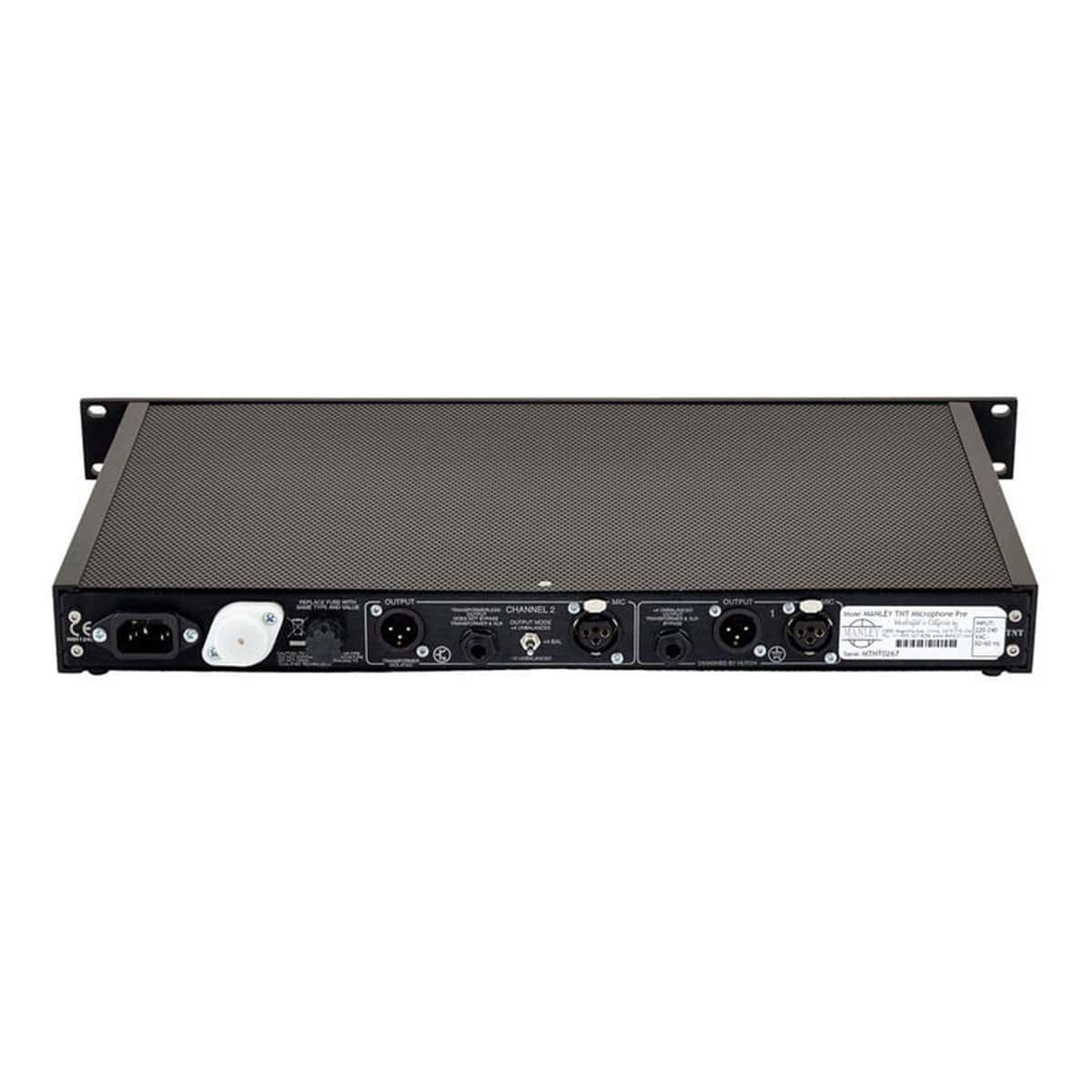 Manley TNT 06 Outboard professionale analogico, Preamplificatori microfonici in formato Rack e Serie 500, Strumentazioni Pro Audio per studi di registrazione