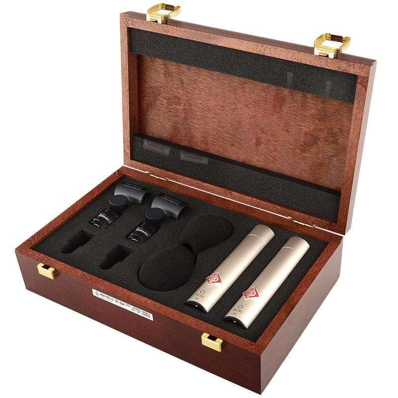 Neumann KM 183 Stereo Set 01 Microfoni a Condensatore, Microfoni professionali, Strumentazioni Pro Audio per studi di registrazione