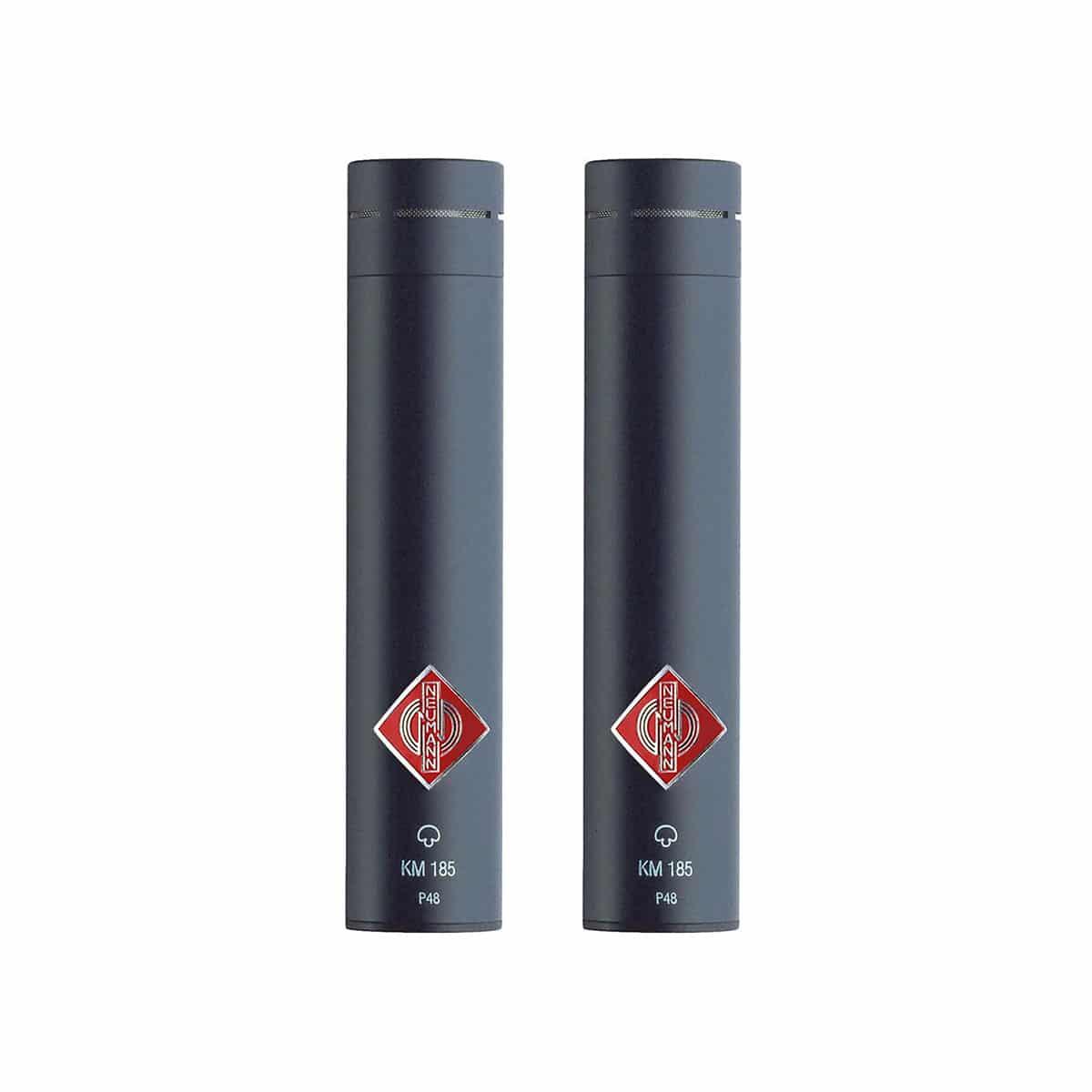 Neumann KM 185 Stereo Set 05 Microfoni a Condensatore, Microfoni professionali, Strumentazioni Pro Audio per studi di registrazione