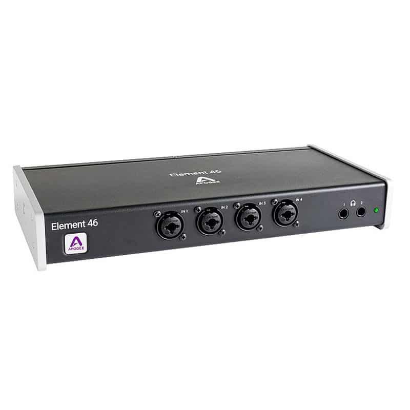 Apogee ELEMENT 46 Pro Audio, Audio Digitale, Schede Audio per PC e MAC Apogee Element 46 01