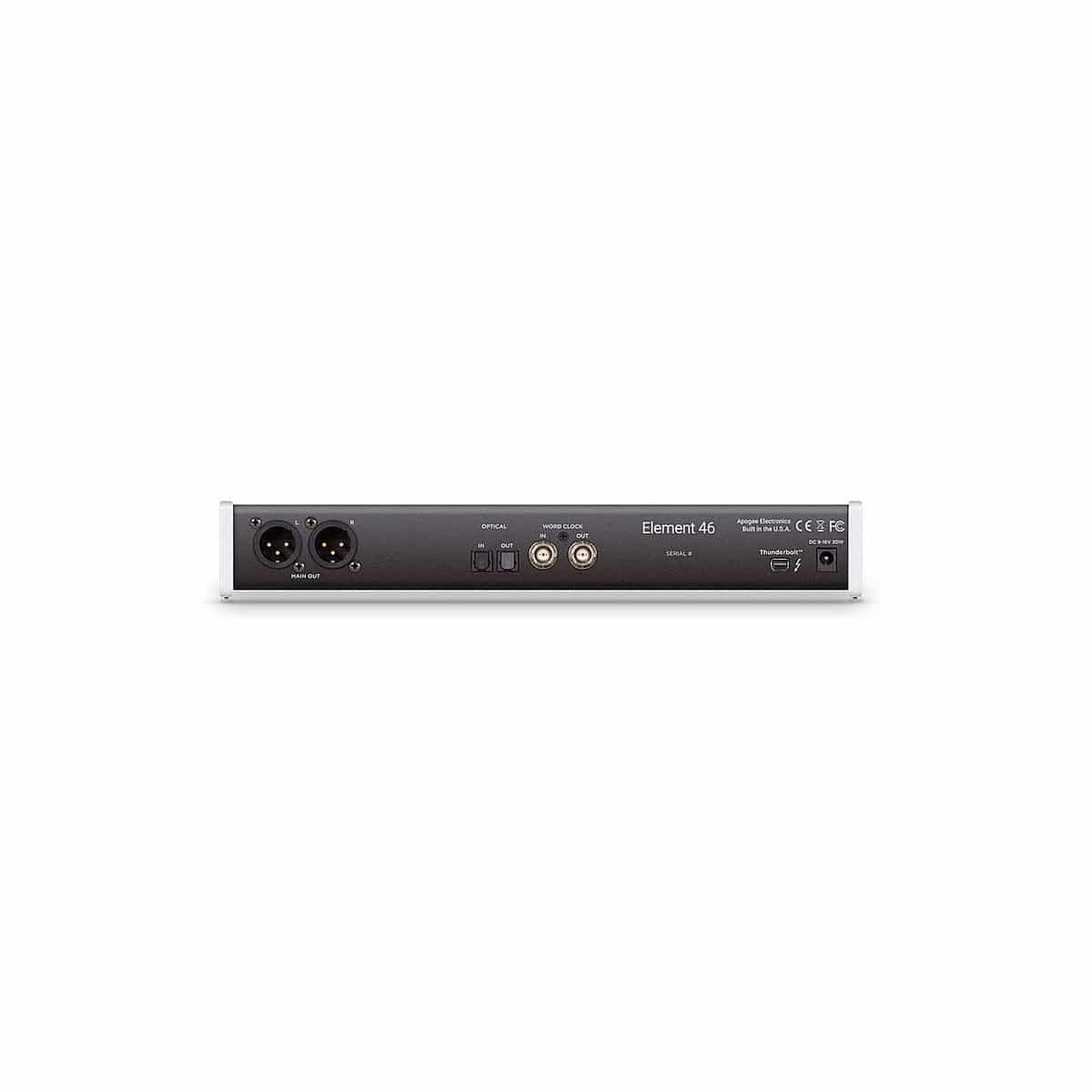 Apogee ELEMENT 46 Pro Audio, Audio Digitale, Schede Audio per PC e MAC Apogee Element 46 03