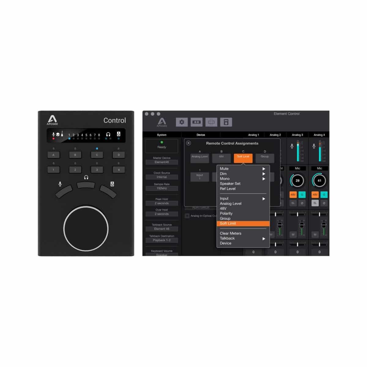 Apogee ELEMENT 46 Pro Audio, Audio Digitale, Schede Audio per PC e MAC Apogee Element 46 08