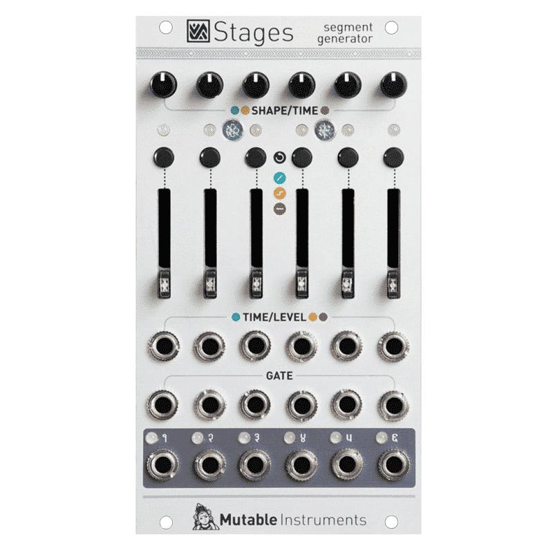 Mutable Instruments Stages Sintetizzatori e Drum Machine, Moduli Eurorack e accessori, Inviluppo