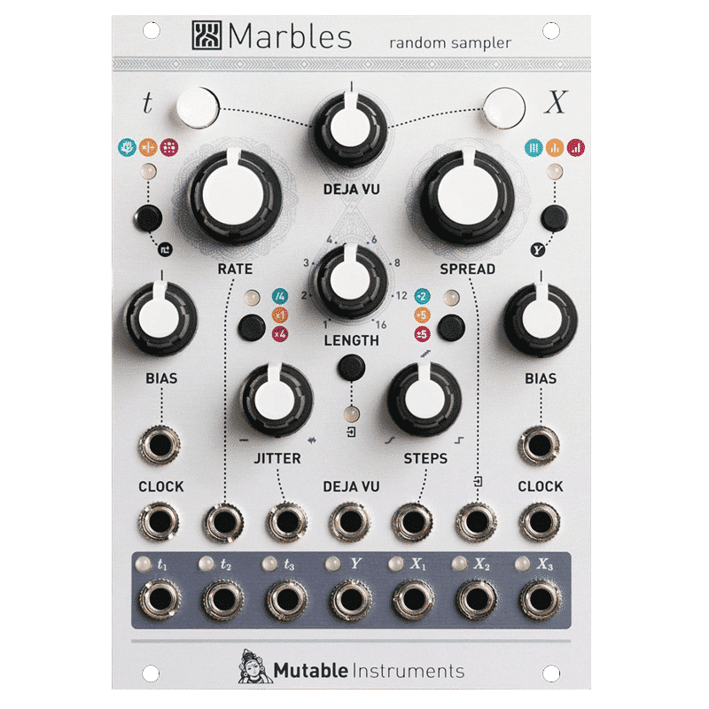 Mutable instruments Marbles Synthesizers and Drum Machines, Eurorack Modules