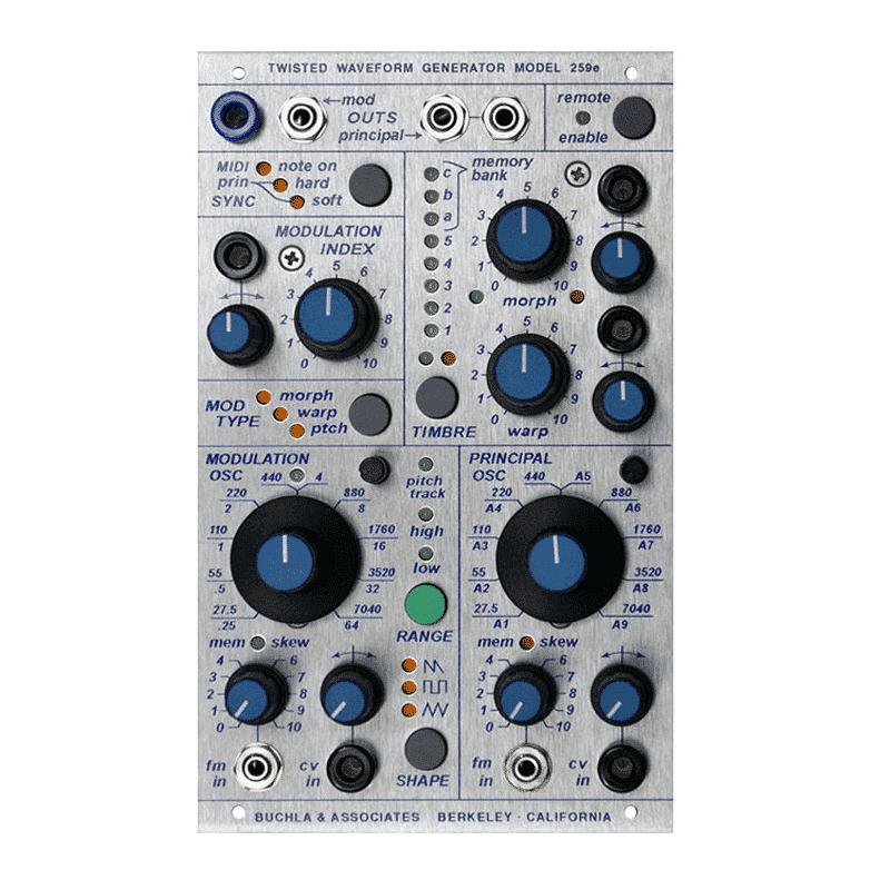 259e Moduli Buchla, Sintetizzatori e Drum Machine