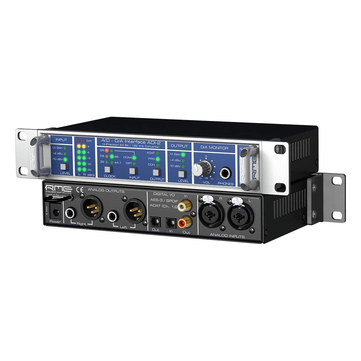 RME ADI 2 03 Convertitori audio professionali, Strumentazioni Pro Audio per studi di registrazione, Audio digitale: Convertitori e schede audio, Interfacce e schede audio USB e Thunderbolt per PC e Mac