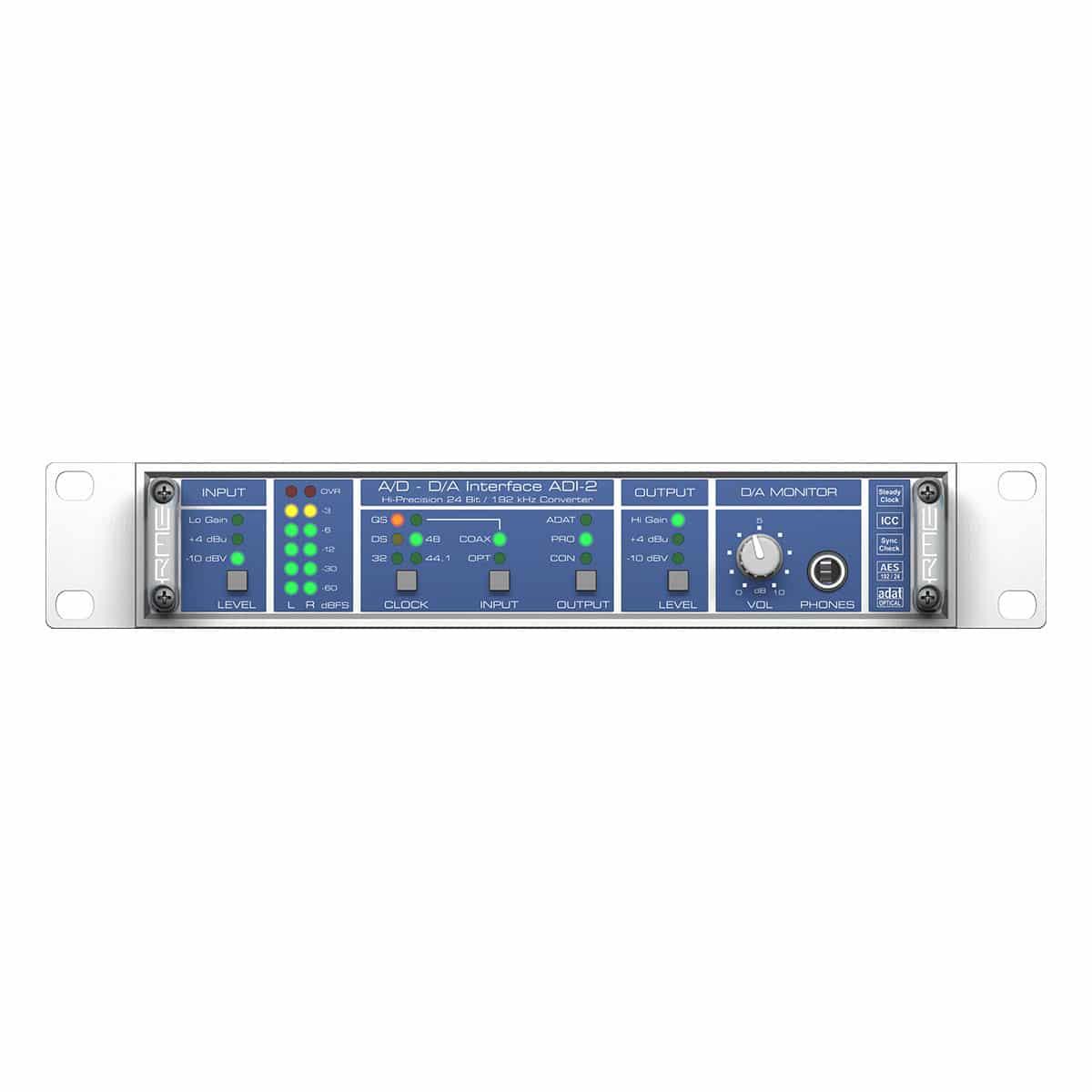 RME ADI 2 04 Convertitori audio professionali, Strumentazioni Pro Audio per studi di registrazione, Audio digitale: Convertitori e schede audio, Interfacce e schede audio USB e Thunderbolt per PC e Mac
