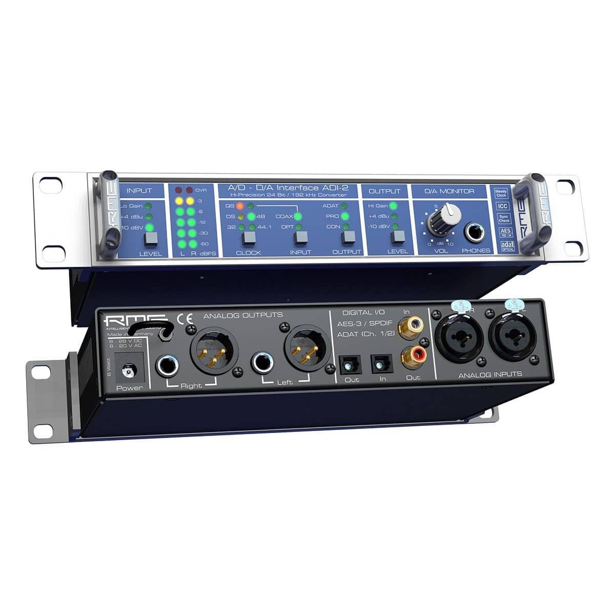 RME ADI 2 06 Convertitori audio professionali, Strumentazioni Pro Audio per studi di registrazione, Audio digitale: Convertitori e schede audio, Interfacce e schede audio USB e Thunderbolt per PC e Mac