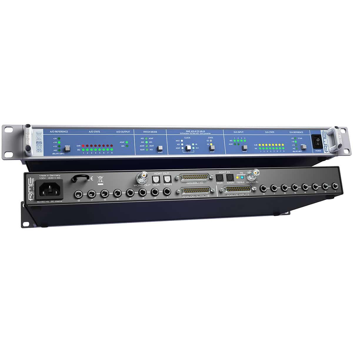 RME ADI 8 DS MKIII 04 Convertitori Audio, Pro Audio, Audio Digitale