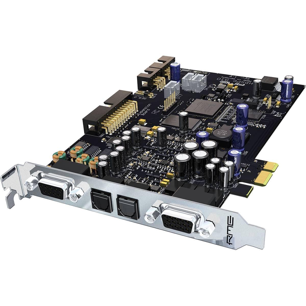 RME HDSPe AIO 01 Convertitori Audio, Pro Audio, Audio Digitale Convertitori e Schede Audio, Schede Audio per PC e MAC