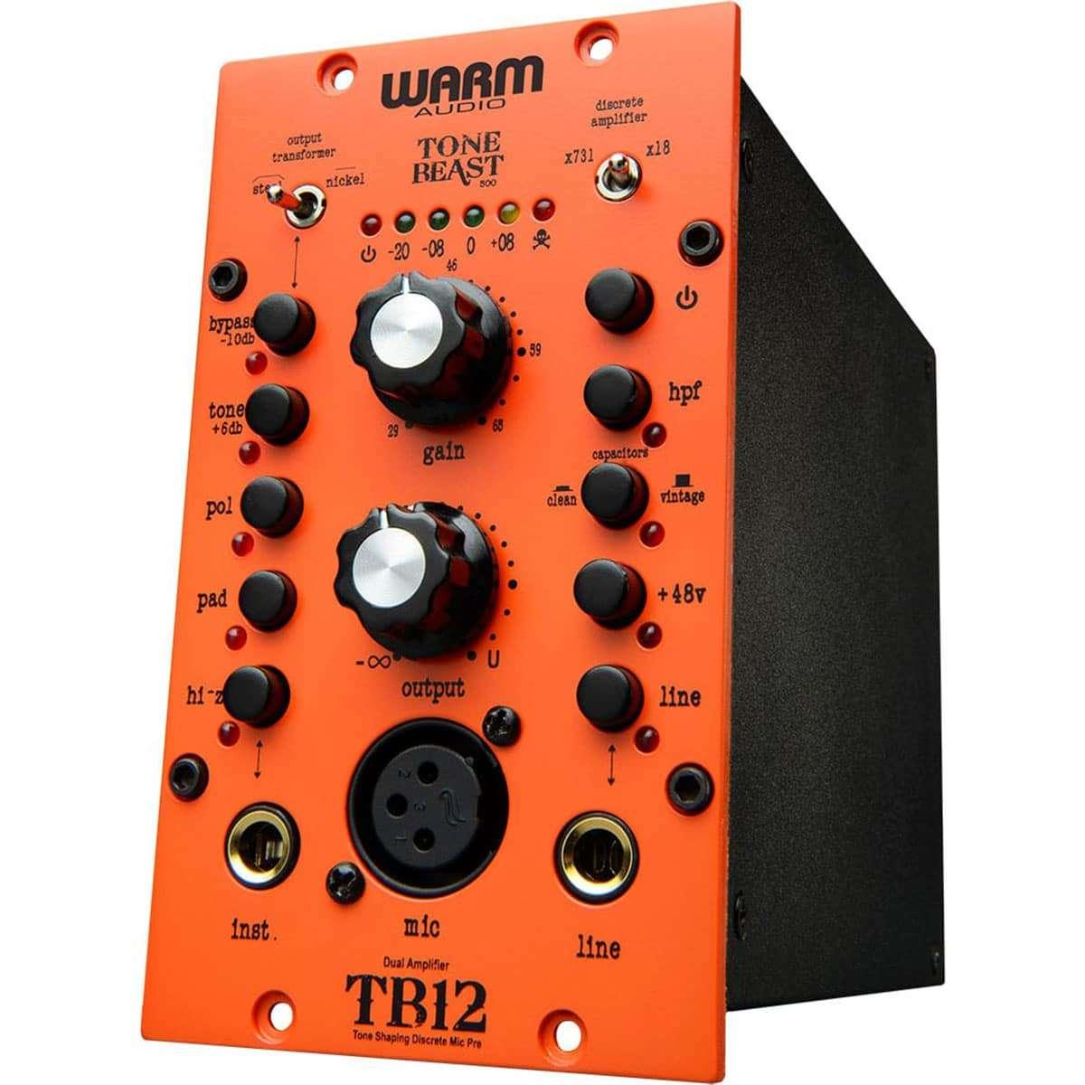 Warm Audio TB12 500 01 Pro Audio, Outboard, Preamplificatori Microfonici