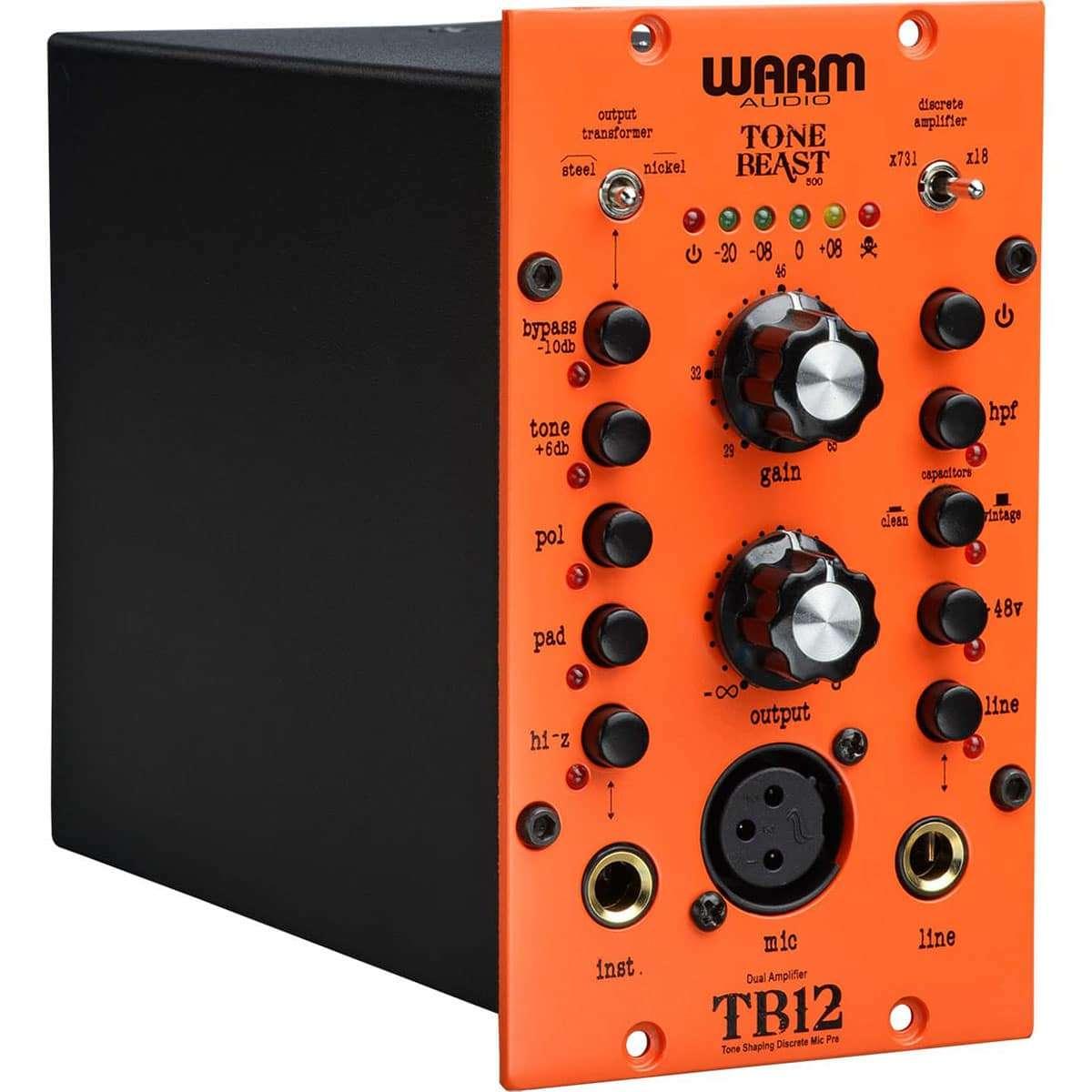 Warm Audio TB12 500 03 Pro Audio, Outboard, Preamplificatori Microfonici