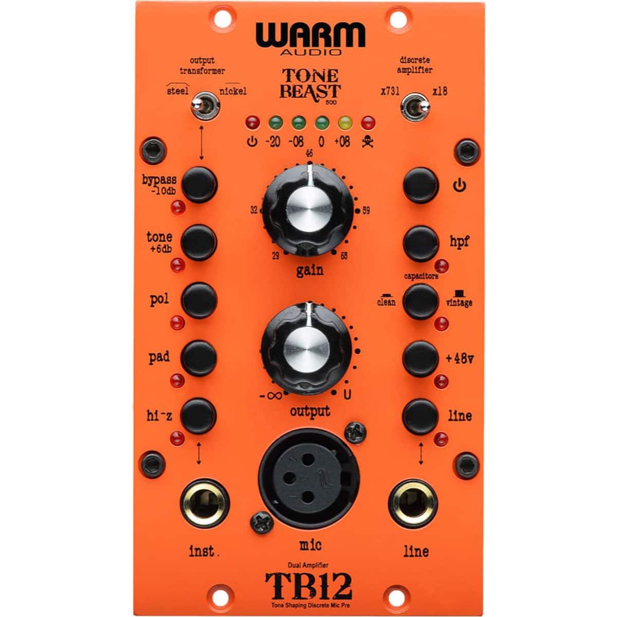 Warm Audio TB12 500 04 Pro Audio, Outboard, Preamplificatori Microfonici