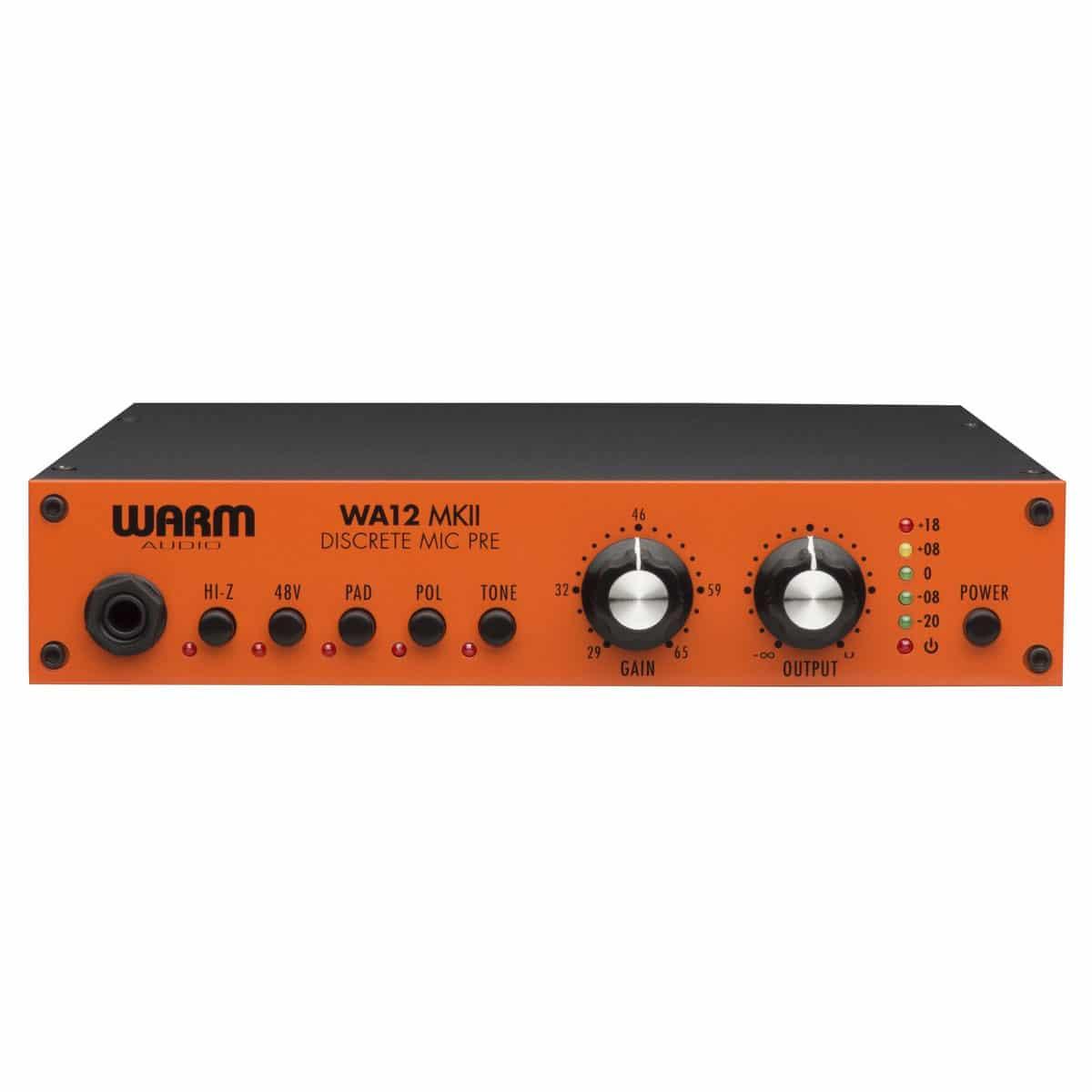 Warm Audio WA 12 MKII 01 Pro Audio, Outboard, Preamplificatori Microfonici