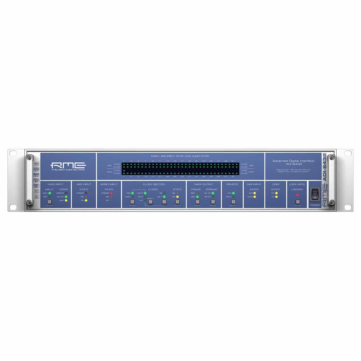 RME ADI 6432 01 Convertitori Audio, Pro Audio, Audio Digitale