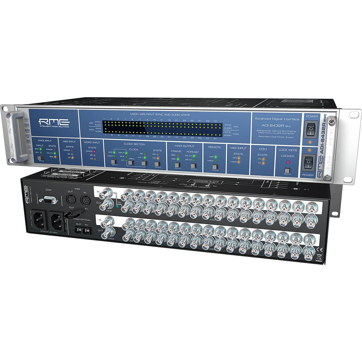RME ADI 6432R BNC 01 Convertitori Audio, Pro Audio, Audio Digitale