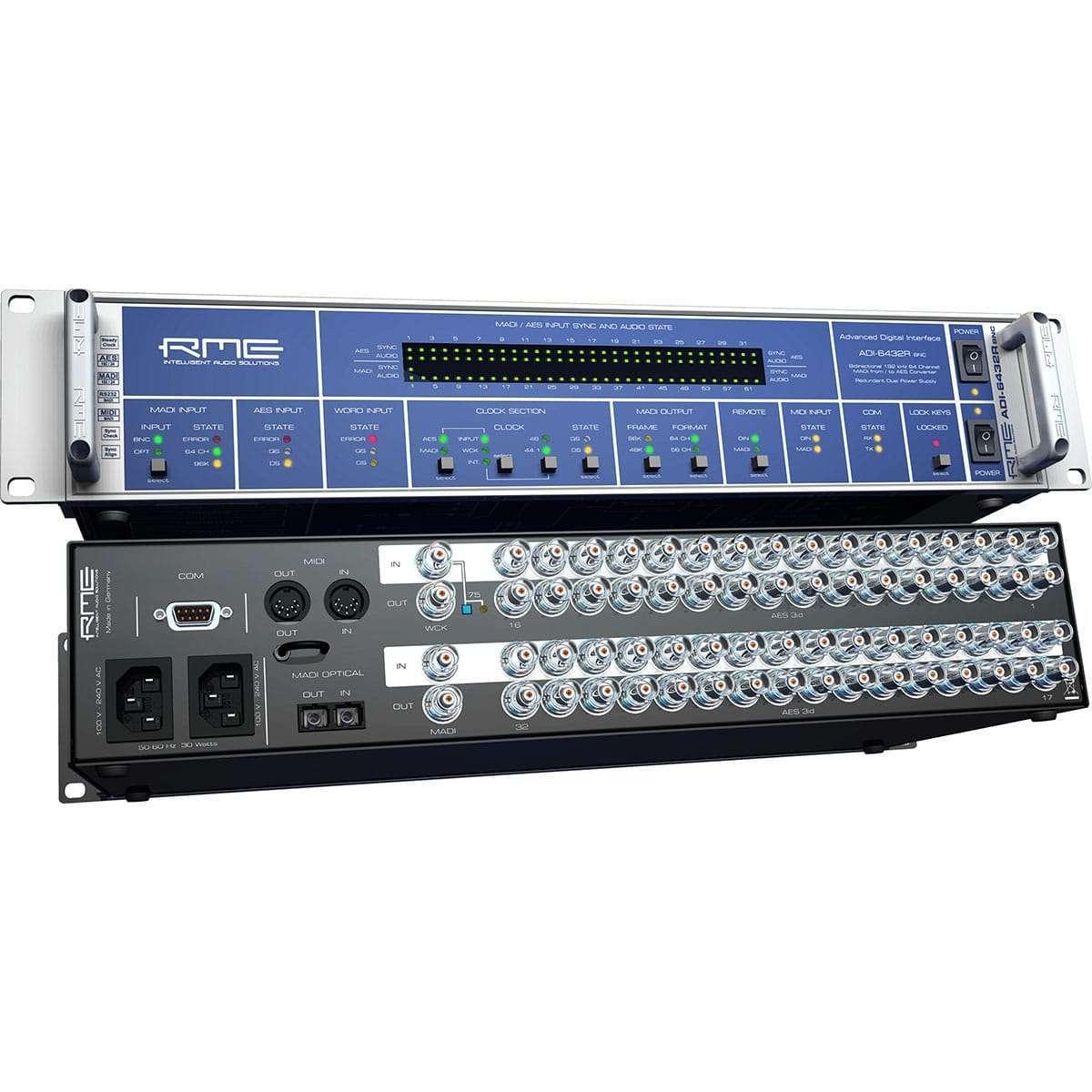 RME ADI 6432R BNC 02 Convertitori Audio, Pro Audio, Audio Digitale