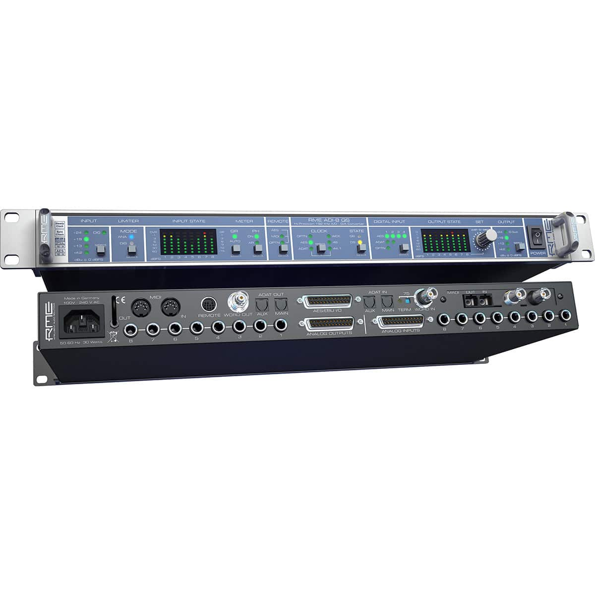 RME ADI 8 QS 05 Convertitori Audio, Pro Audio, Audio Digitale Convertitori e Schede Audio