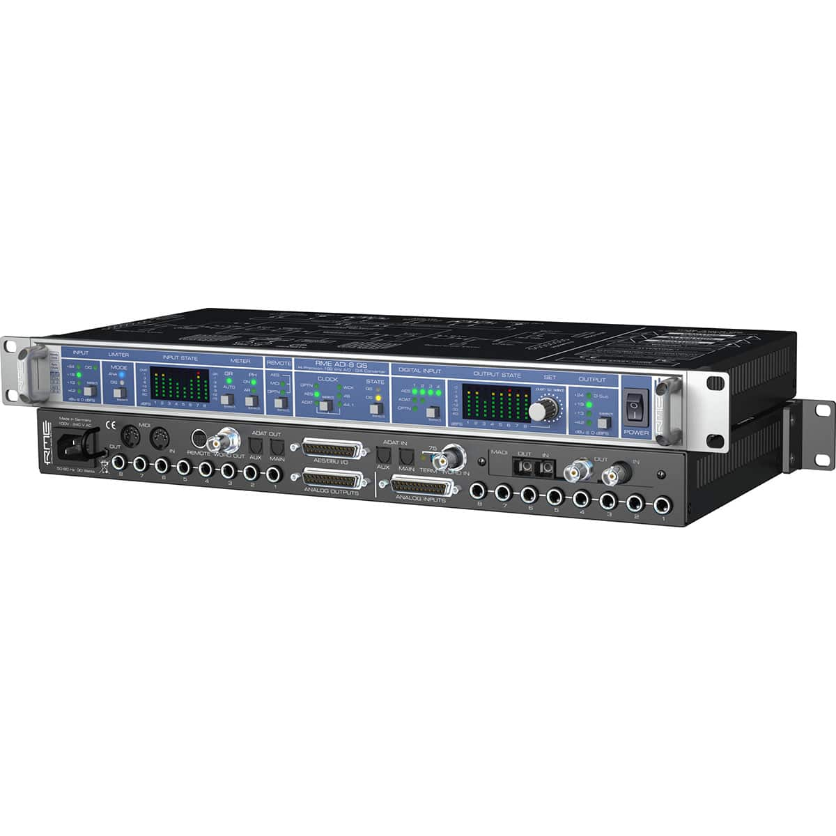 RME ADI 8 QS 06 Convertitori Audio, Pro Audio, Audio Digitale Convertitori e Schede Audio