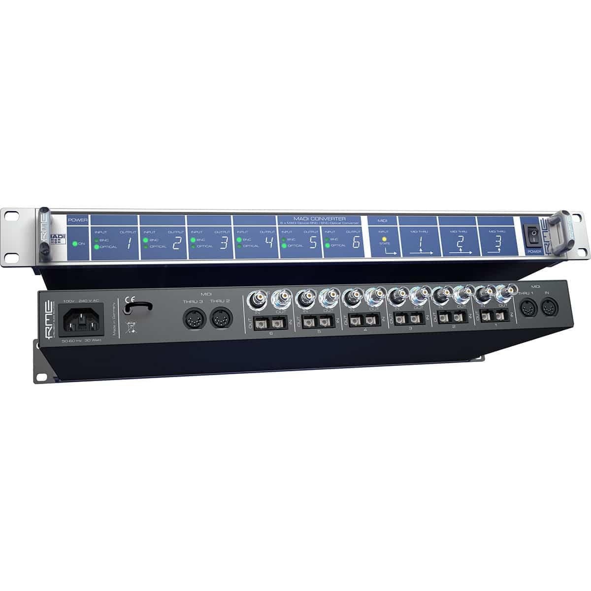 RME ADI Madi Converter 06 Convertitori Audio, Pro Audio, Audio Digitale