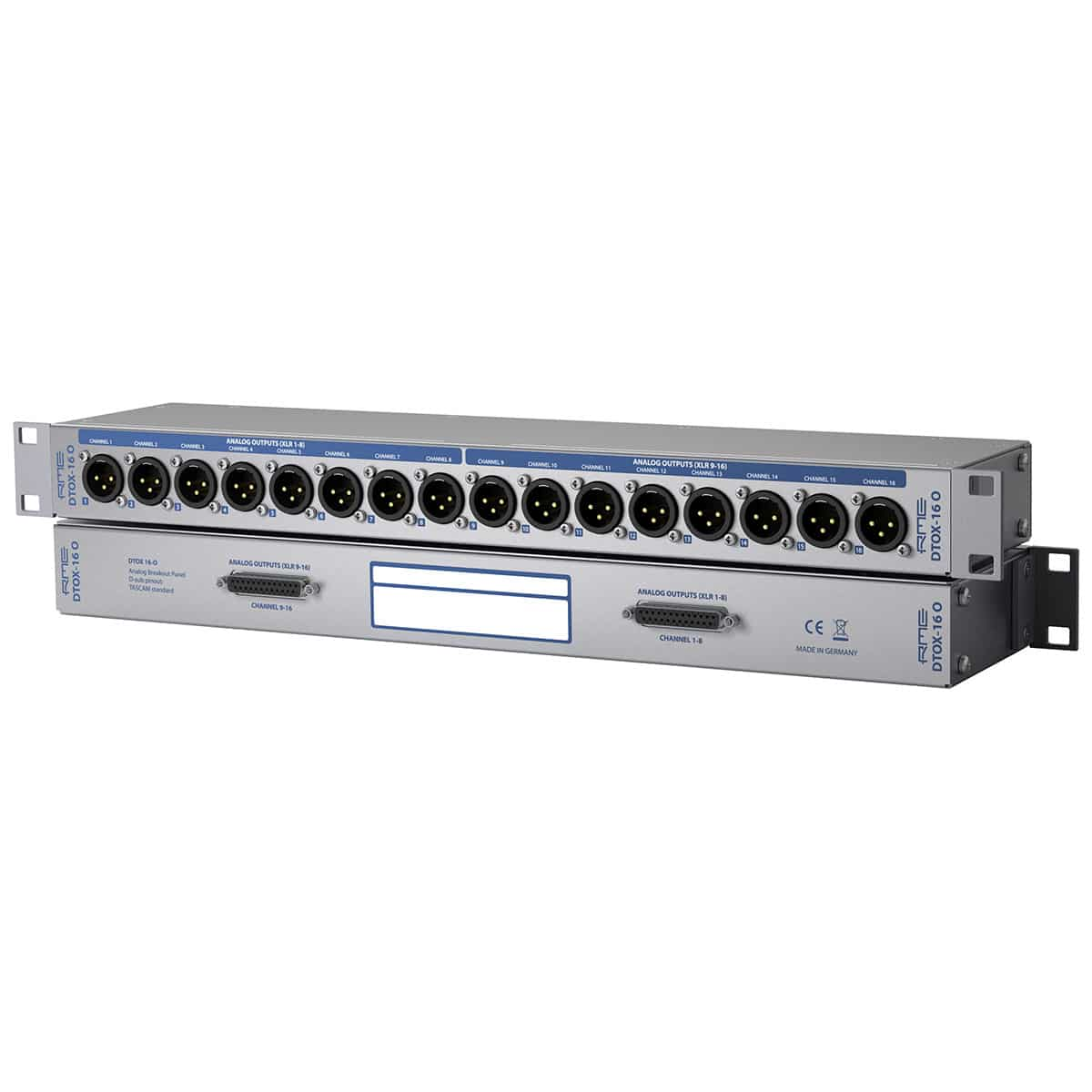 RME DTOX 16 O 01 Patch Bay, Pro Audio, Cavi e Cablaggio