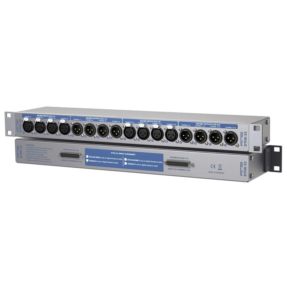 RME DTOX 32 03 Patch Bay, Pro Audio, Cavi e Cablaggio