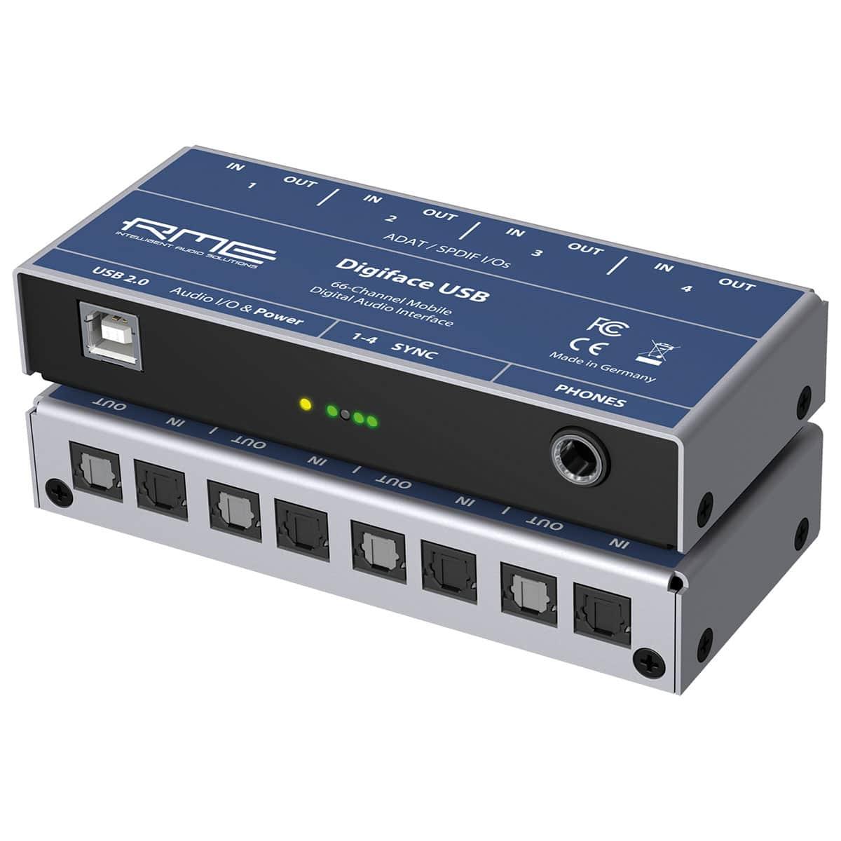 RME Digiface Usb 01 Pro Audio, Audio Digitale Convertitori e Schede Audio, Schede Audio per PC e MAC