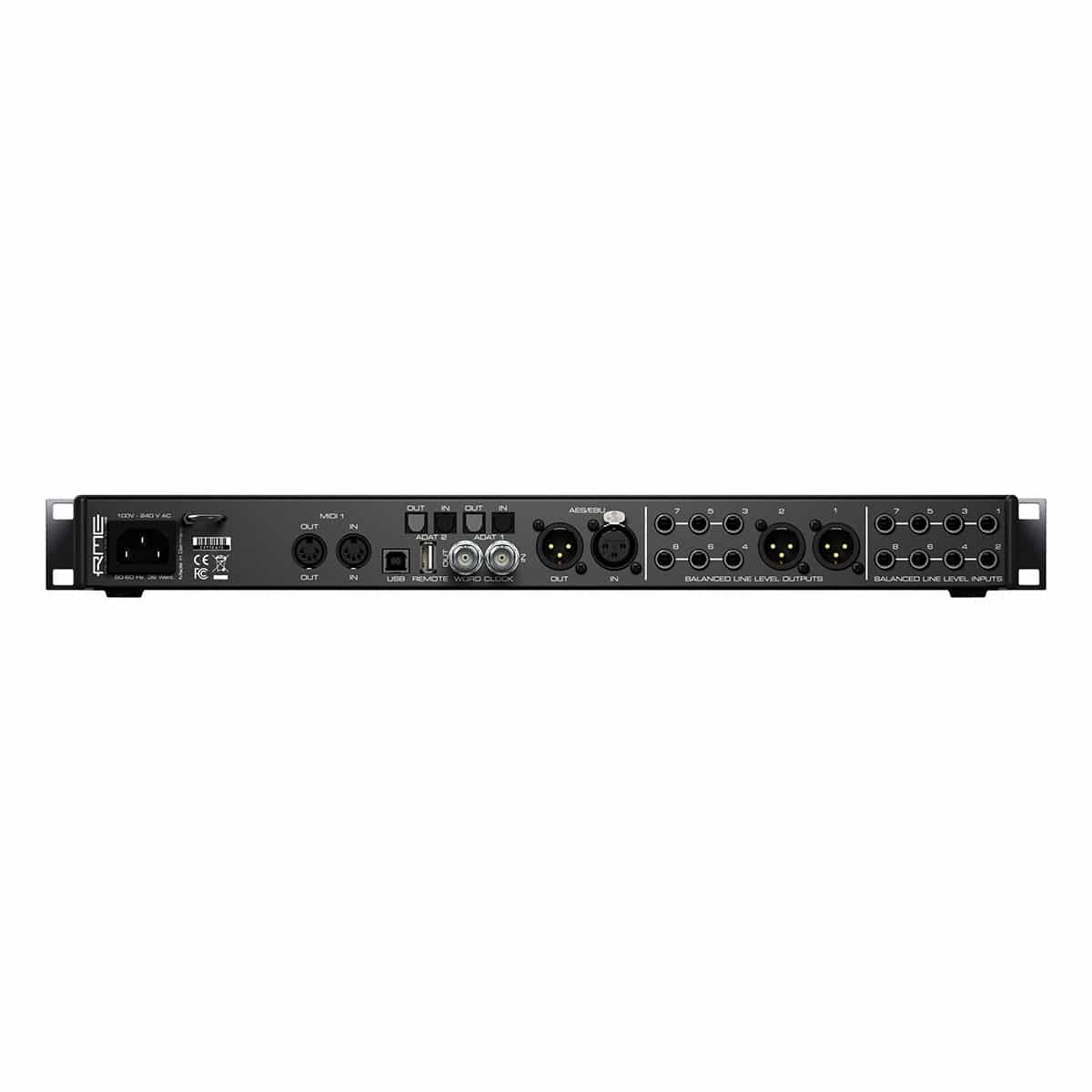 RME Fireface Ufx ii 03 Pro Audio, Audio Digitale Convertitori e Schede Audio, Schede Audio per PC e MAC