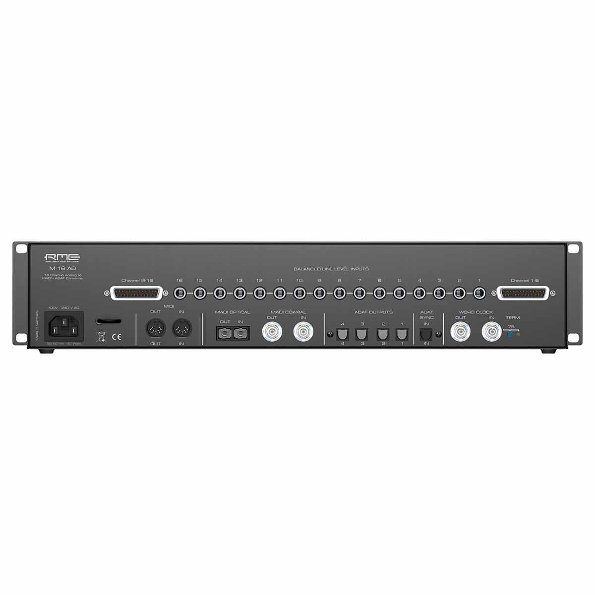 RME M 16 AD 02 Convertitori Audio, Pro Audio, Audio Digitale