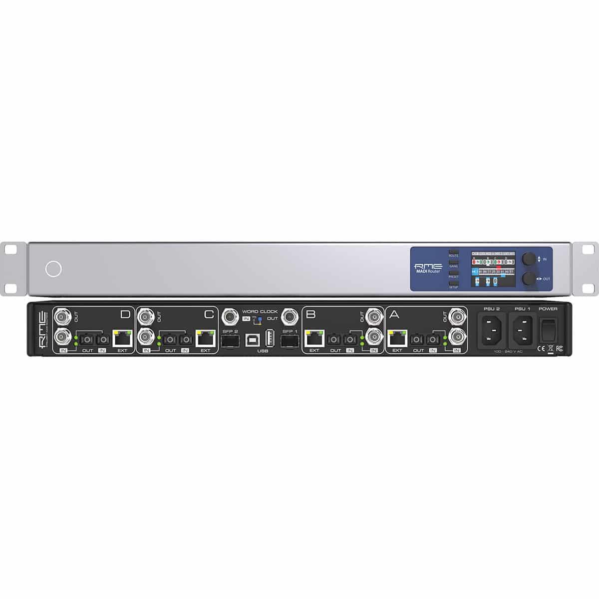RME Madi Router 03 Convertitori Audio, Recording, Audio Digitale Convertitori e Schede Audio