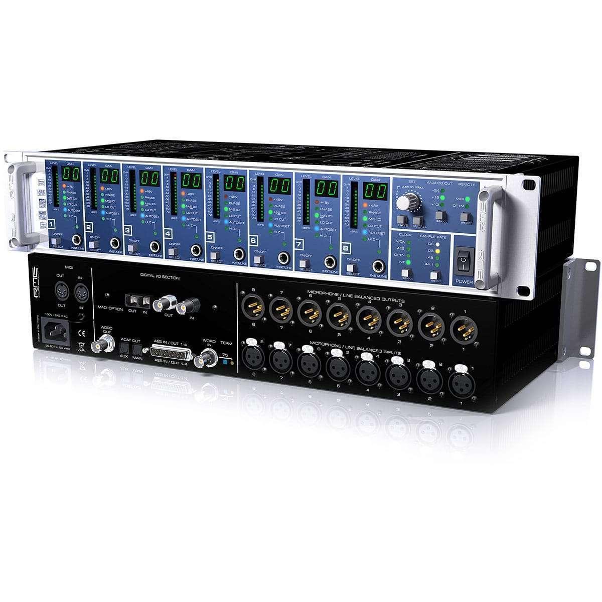RME Micstasy 04 Convertitori Audio, Pro Audio, Outboard, Preamplificatori Microfonici, Audio Digitale