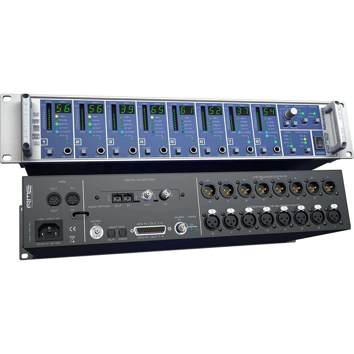 RME Micstasy 05 Convertitori Audio, Pro Audio, Outboard, Preamplificatori Microfonici, Audio Digitale