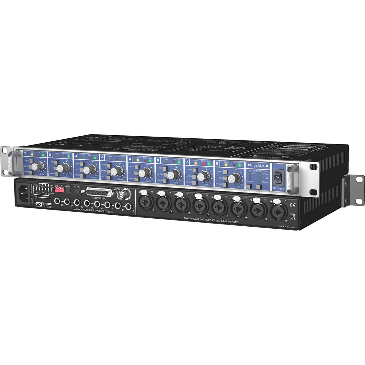RME Octamic 2 03 Convertitori Audio, Recording, Outboard, Preamplificatori Microfonici, Audio Digitale Convertitori e Schede Audio