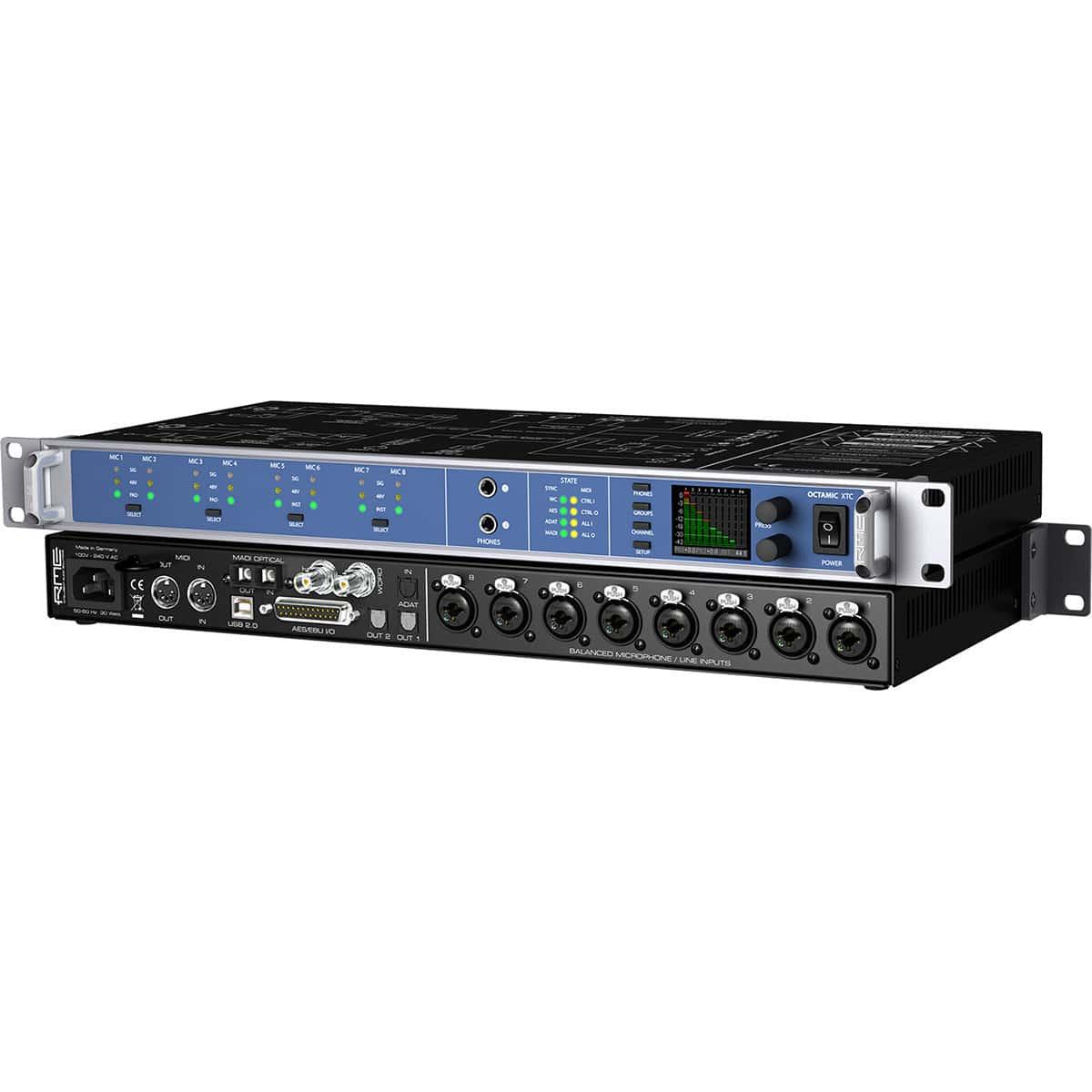 RME Octamic XTC 03 Convertitori Audio, Pro Audio, Outboard, Preamplificatori Microfonici, Audio Digitale