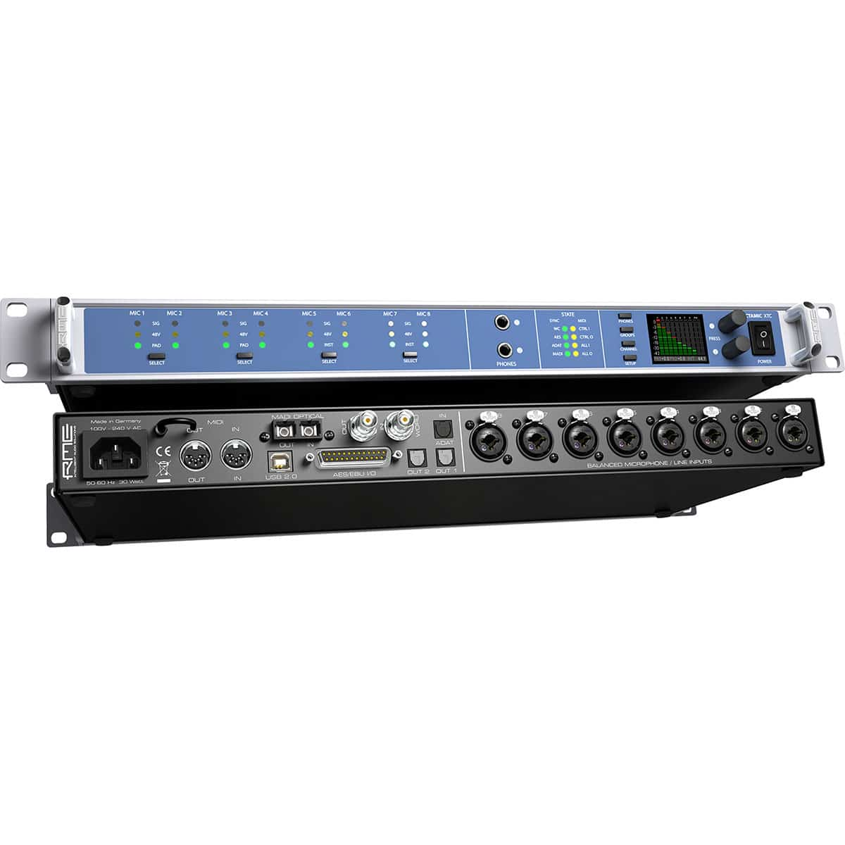 RME Octamic XTC 04 Convertitori Audio, Pro Audio, Outboard, Preamplificatori Microfonici, Audio Digitale