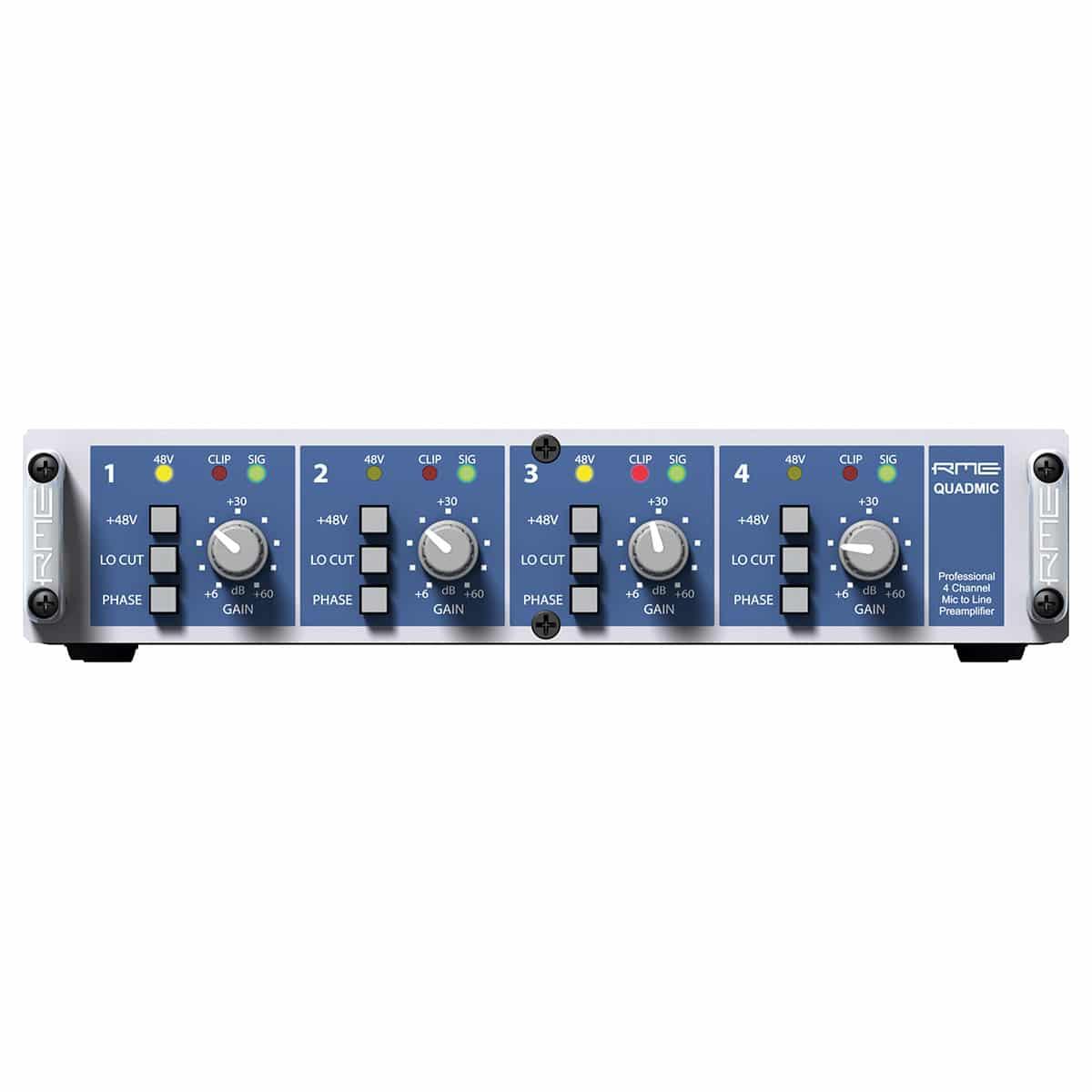 RME Quadmic II 01 Pro Audio, Outboard, Preamplificatori Microfonici