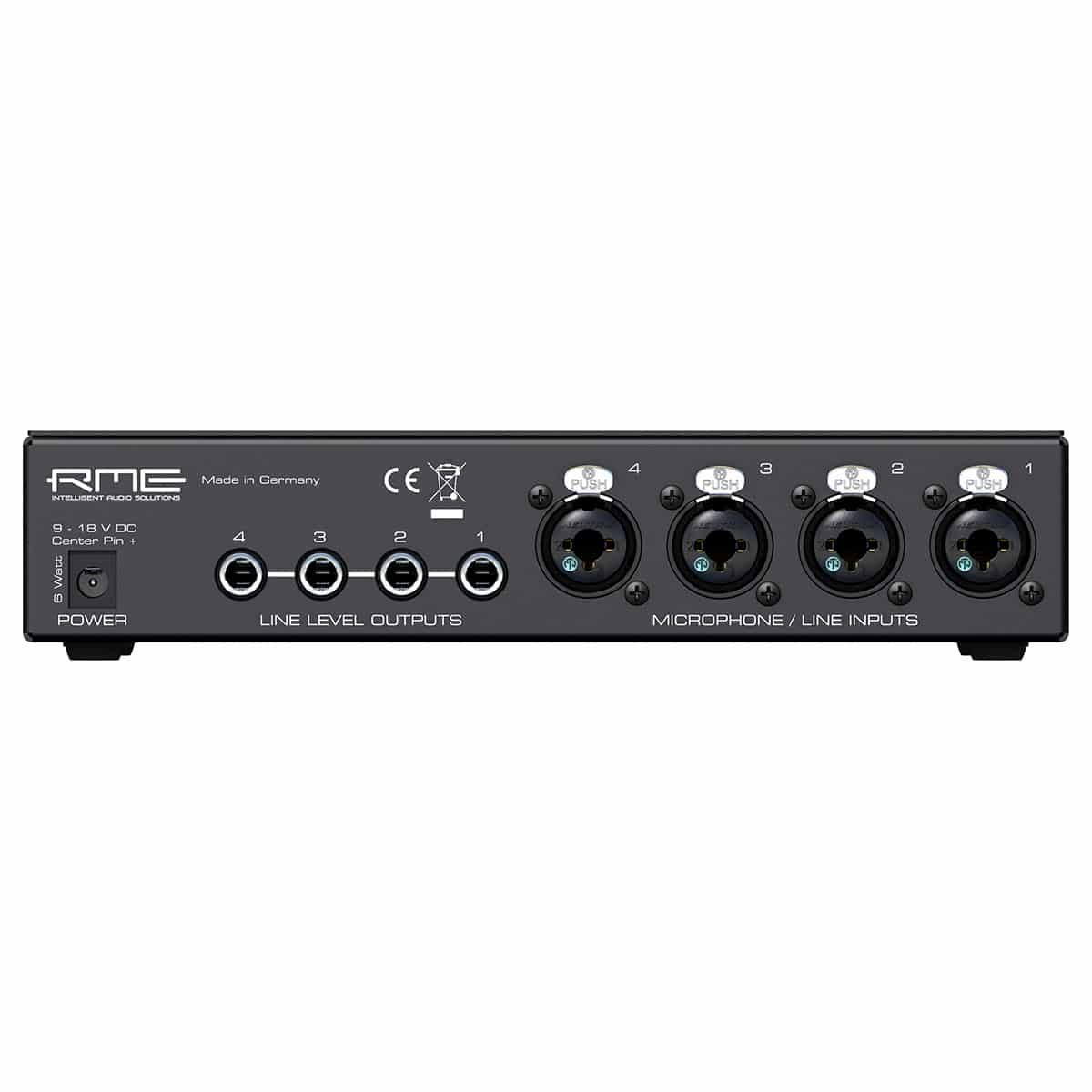 RME Quadmic II 02 Pro Audio, Outboard, Preamplificatori Microfonici