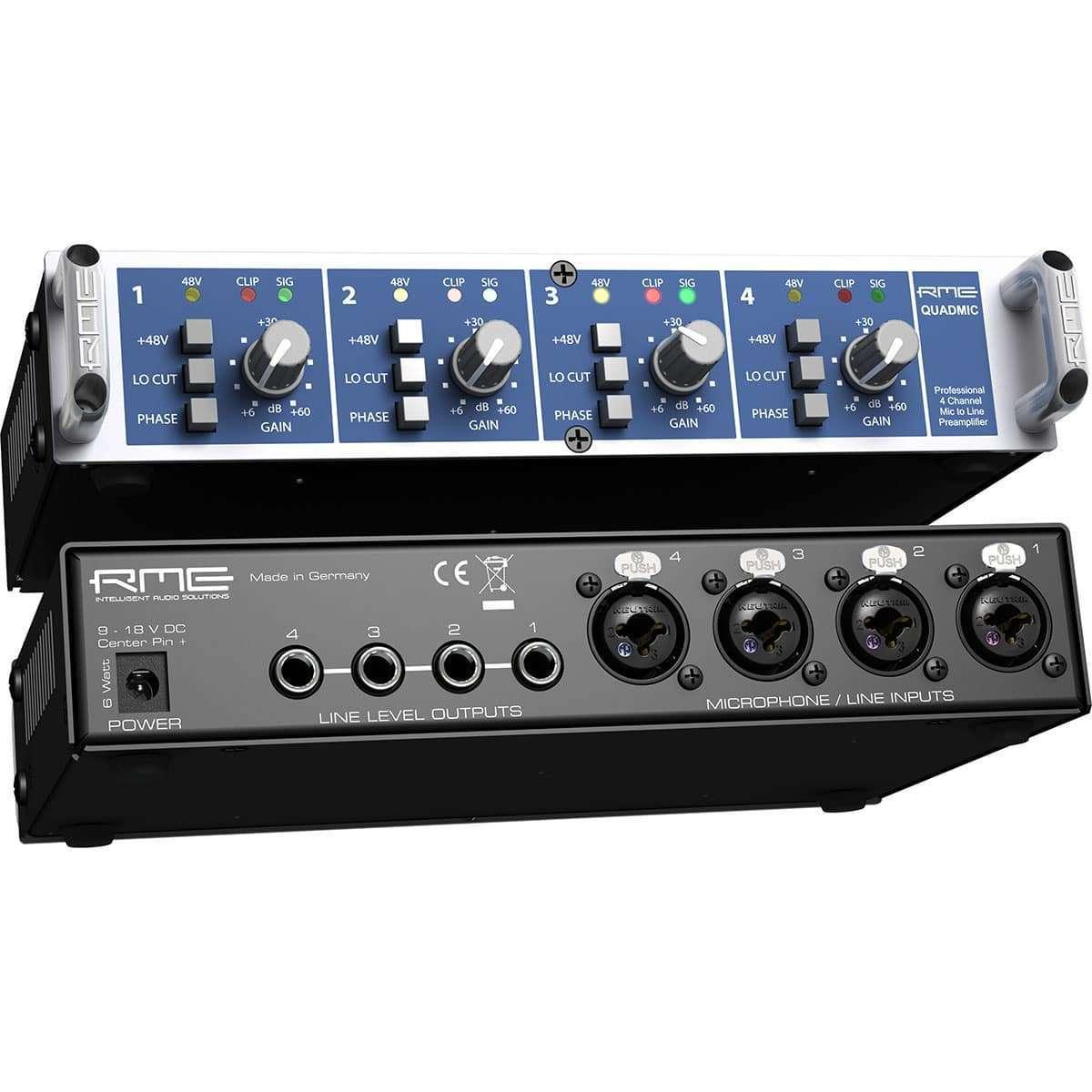 RME Quadmic II 04 Pro Audio, Outboard, Preamplificatori Microfonici