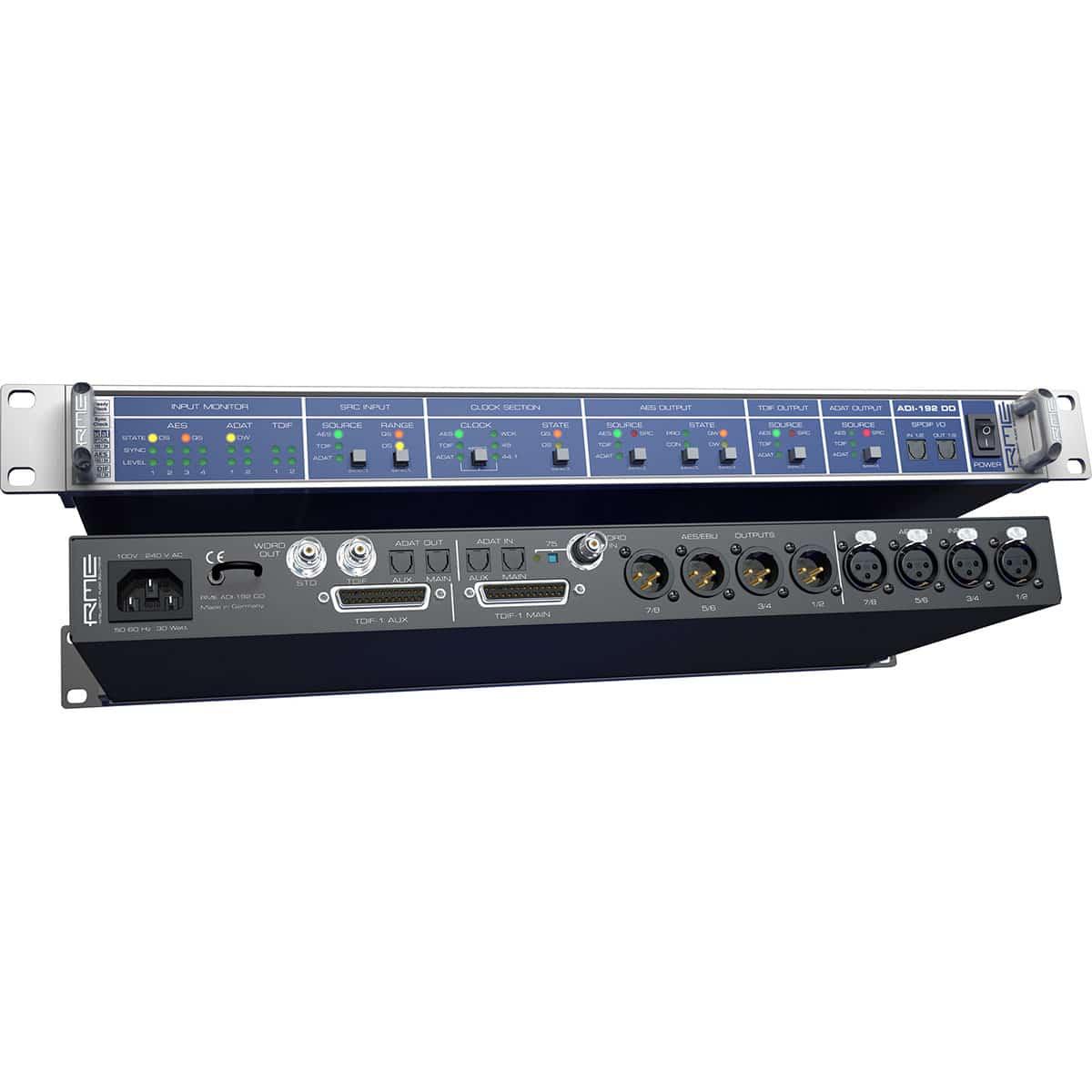 RME ADI 192 DD 06 Convertitori Audio, Pro Audio, Audio Digitale