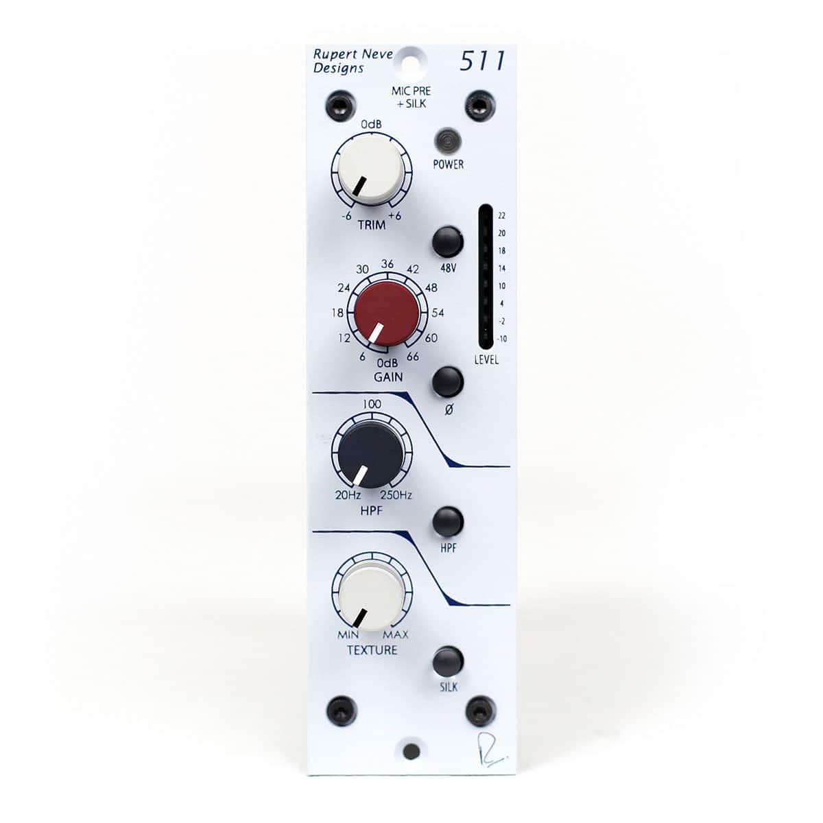 rupert neve 511 mic pre con swept hpf variable silk disponibile su milk audio store com. Black Bedroom Furniture Sets. Home Design Ideas