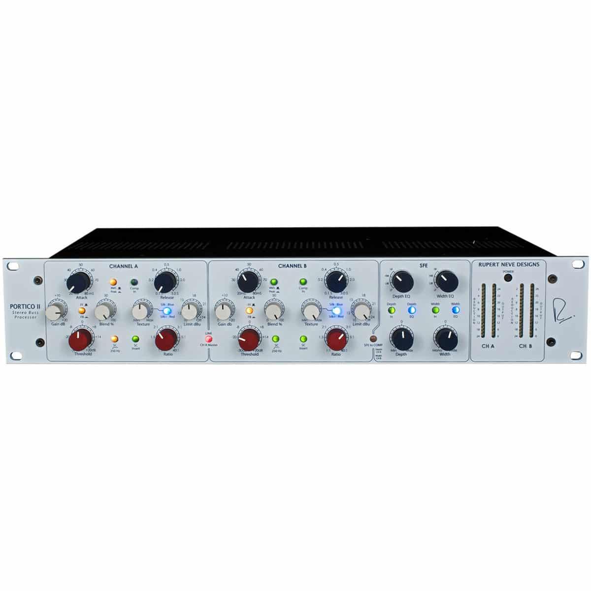 Rupert Neve Portico II Master Bus Processor 01 Strumentazioni Pro Audio per studi di registrazione, Outboard professionale analogico, Compressori analogici per il tuo studio di registrazione