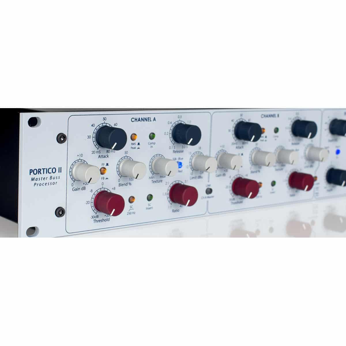 Rupert Neve Portico II Master Bus Processor 04 Strumentazioni Pro Audio per studi di registrazione, Outboard professionale analogico, Compressori analogici per il tuo studio di registrazione