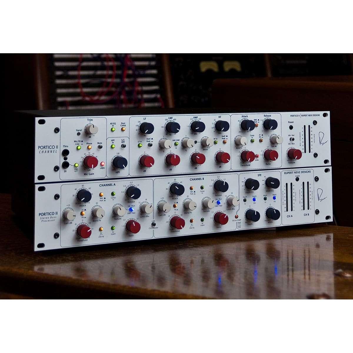 Rupert Neve Portico II Master Bus Processor 05 Strumentazioni Pro Audio per studi di registrazione, Outboard professionale analogico, Compressori analogici per il tuo studio di registrazione