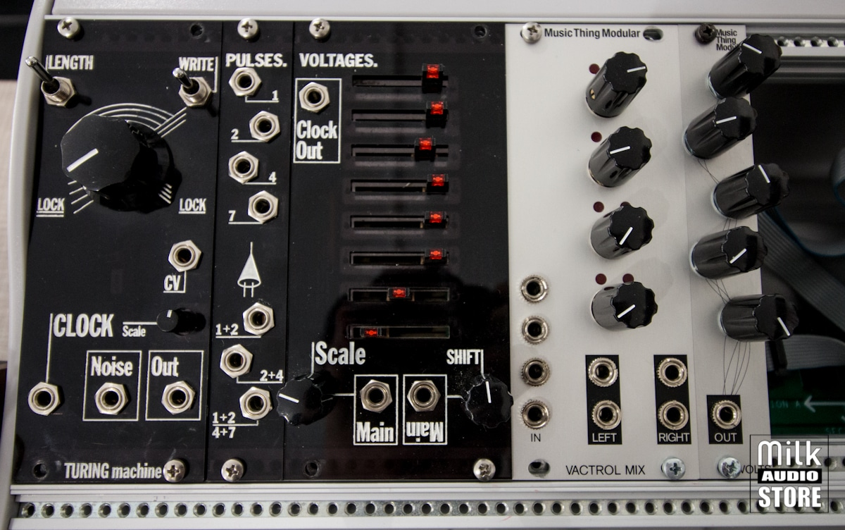 lyra 1 Music Thing Modular Turing Machine with complete expansions (usato)