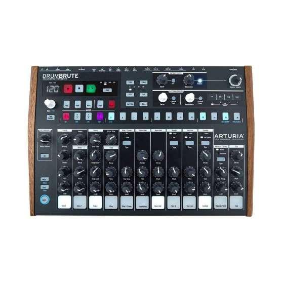 Arturia DrumBrute 01 555x555 Sintetizzatori e Drum Machine, Drum Machines Batterie Elettroniche