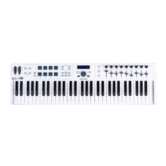 Arturia Keylab61 Essential 01 555x555 Sintetizzatori e Drum Machine, Sintetizzatori e Tastiere, Midi Controllers